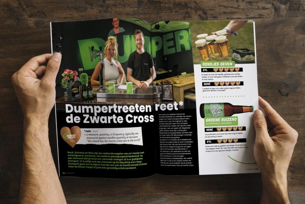 Harder! Magazine #43, Dumpert, DumpertReeten